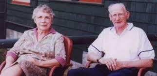 Eunice (Jerred) and Elmer Richter (~1980) | Eunice, Elmer, Style