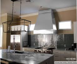 stainless steel kitchen hood. Stainless Steel Kitchen Hood With Full Vent System From Vent-a-hood. C