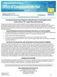 legal representatives identification card application