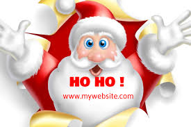Christmas Santa Card Template Postermywall