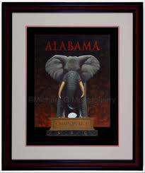 on alabama elephant wall art with alabama