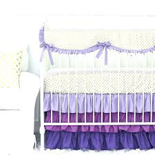 erfly nursery bedding set purple and gold dot ruffle crib bedding set erfly meaning girls erfly