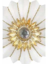 Inge Glas Inge Glas Christbaumschmuck Glas Ornamente 4 Teilig Magic Peaceful White Weiß Goldfarben Im Heine Online Shop Kaufen