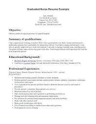 Nursing Resumes Examples How To Write New Grad Nurse Resume Example ...