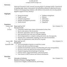 Medical Coding Resume Sample Billing Specialist Resume Summary Medical And Coding Sample Cover 24