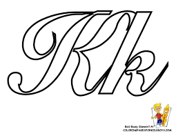 Small Picture Alphabet Coloring Pages Yescoloring Coloring Pages