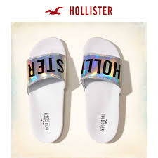 Usd 55 46 Hollister Rainbow Color Logo Models Sandals