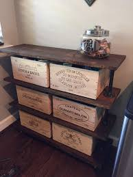 8 Shabby-Chic and Vintage Wine Crate Ideas