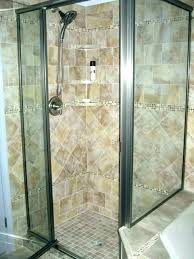 how to install glass shower door cost doors on tub tile replace handle