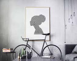 Black and white prints, modern wall art, pop art prints, affiche enfant,