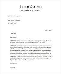 Professional Cover Letter Template Original Concept Presentation 6