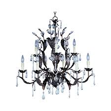pyramid creations grove 9 light oil rubbed bronze traditional chandelier