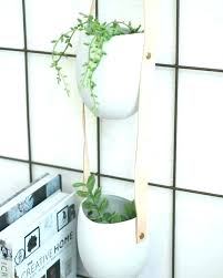 wall mounted plant pots planters indoor railing flower hang