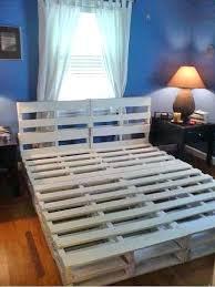 king size pallet bed pallet bed plans critv org