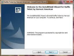 raffle software raffle ticket software installation guide raffle ticket software