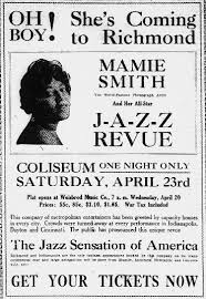 """Oh Boy! She's Coming to Richmond"""": Mamie Smith Brings the """"Crazy Blues,""""  1921   Hoosier State Chronicles: Indiana's Digital Newspaper Program"""