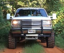 All Chevy 97 chevy k1500 : Wheel Offset 1997 Chevrolet K1500 Super Aggressive 3 5 Suspension ...