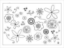 Paper Flower Templates Free Download Printable Flower Template Paper Flower Templates Free Pdf Documents