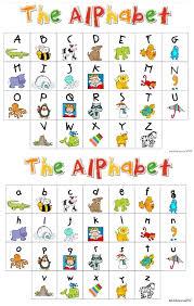 My Alphabet Chart My Kindergarten Daily Schedule And A Free Alphabet Chart