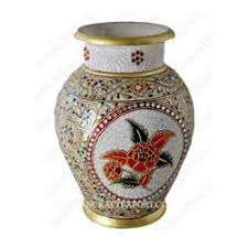 Pot Decoration Designs Decorative Marble Flower Pot Indian Crafts Exporter in Jhotwara 25