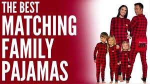 Matching Family Pajamas - Perfect for Family Christmas Pajamas ...