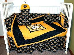bedding sets bed crib set astounding photo nursery best queen pittsburgh steelers comforter country
