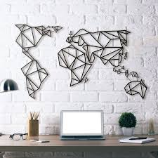 35 metal artwork for walls my wall of life throughout world map wall artwork photo