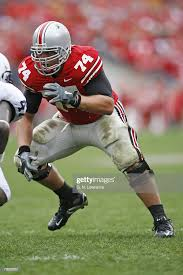 Ohio State's Kirk Barton looks for a block during action between Penn...  News Photo - Getty Images