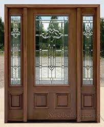 entry doors with side panels. PFC-200 Majestic Glass Entry Doors With Side Panels E