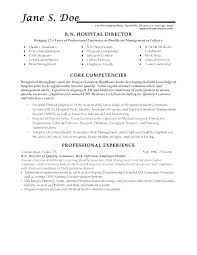 Resume Objective Examples For Healthcare