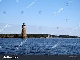 Whaleback Light Kittery Maine This Whaleback Lighthouse Kittery Maine Stock Photo Edit
