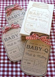 Baby-Q Stamped Invties