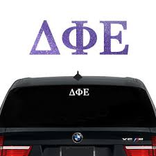 car letter decals best greek letters stickers products on wanelo