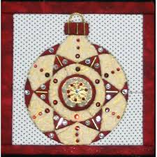 "Christmas Tree Ornament 4A ""No Sew"" Quilted Wall Hanging Kit &  Adamdwight.com"
