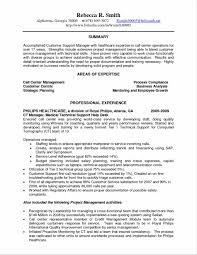 Mesmerizing Resume Technical Support Manager With Operations