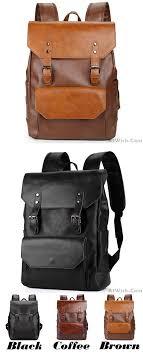 Retro Brown Strap Large Flap Metal Lock Belt Square Men's School Backpack  only $42.99 -AtWish.com   Leather backpack for men, Womens backpack, School  backpacks