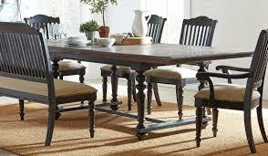 Coaster Furniture Simpson Latte Black Rectangle Dining Table The