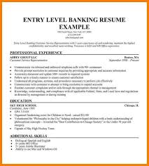 Entry Level Banking Resumes 11 Entry Level Resume Templates Precis Format