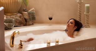 bubble baths are not possible in a jetted bathtub
