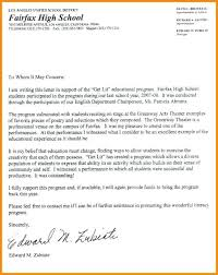Sample Of Reference Letter For Student Recommendation Letter For A