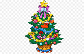 cartoon christmas lights png