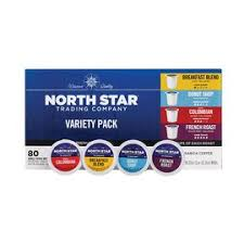 North star coffee shop & general store, leeds. North Star Variety Pack Single Serve Coffee Cups 80 Count K Cup Pods Shop Your Navy Exchange Official Site