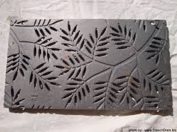 Decorative Metal Grates Planter Stand Made From Iron Age Stair Step Trenchdrainblogcom
