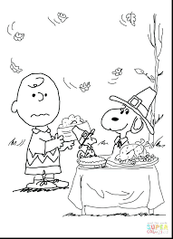Charlie Brown Thanksgiving Coloring Pages Verfutbol