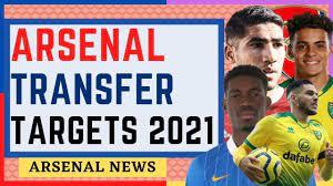 ARSENAL TRANSFER TARGETS 2021 ...