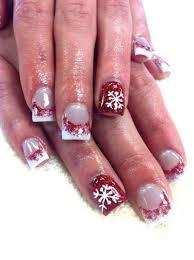 Christmas Nail Designs 2013 30 Festive Christmas Acrylic Nail Designs Cute Christmas