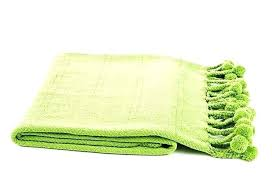 lime green blanket ont ideas throw rug astonishing rugs cotton gr