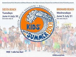 Kids' <b>Summer Beach</b> Runs   Visit Sarasota