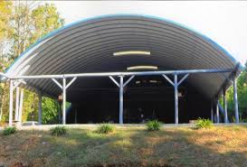 Custom widths can be fabricated for special applications and can attach to  any building. Archcore's steel arch design requires ...