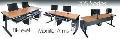 multi level computer desk function ergonomic multi level computer desk